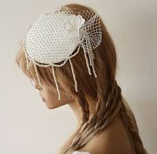 vintage accessories wedding accessory wedding bridal cap wedding cap