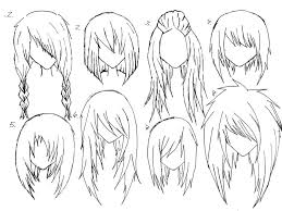 gallery cute anime hairstyles for girls drawing art gallery