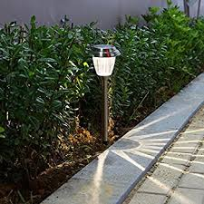 Solar Yard Lights Not Working - led solar lights outdoor landscape pathway lighting sun powered