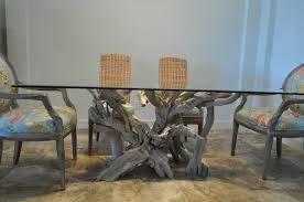 driftwood dining room table driftwood dining tables with glass tops table designs and ideas