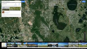 Google Maps Orlando by Poinciana Florida Map