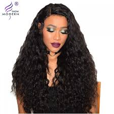 good wet and wavy human hair raw indian remy hair water wave 4 bundles wet and wavy human hair