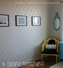 casablanca design casablanca trellis moroccan wall stencil allover moroccan wall
