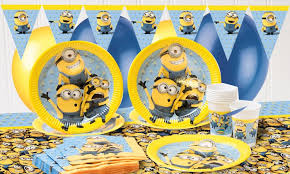 minions party supplies minions party supplies despicable me party party pieces