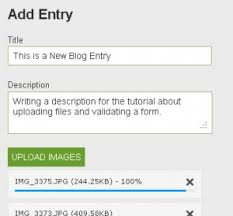 design form using php how to upload multiple files in a web application with progress bar