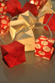 guirlande lumineuse papier japonais guirlande pomme d u0027amour guirlandes u0026 origami