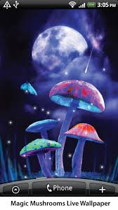 live wallpapers android magic mushrooms live wallpaper android apps on play