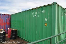 2001 evergreen shipping container item k3837 sold may 2