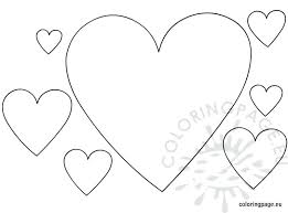 Heart Shape Coloring Pages Animals Heart Simple Shapes Easy Coloring Pages Shapes