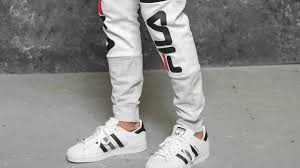 fila brandon sweat pants bright white light grey mel bros black