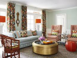 alluring marvellous orange and blue living room adorable set new