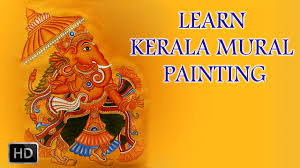 learn kerala mural painting how to draw mural paintings youtube