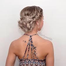 Hochsteckfrisurenen F Mittellange Haar Hochzeit by Frisuren Trends 6 Schicke Geflochtene Hochsteckfrisuren Für