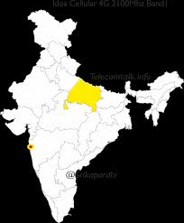 pan india 4g maps of telecom operators across various bands