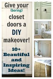 Diy Closet Door Closet Doors Ideas Home Imageneitor Awesome For Intended 13