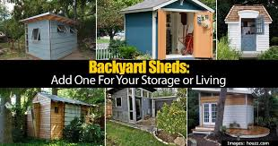 Sheds For Backyard Backyard Sheds Add One For Your Storage Or Living
