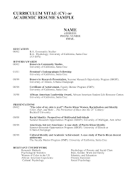 Librarian Resume What Is An Academic Resume Resume For Your Job Application