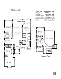 floor plans for homes two story marvellous design 6 2 story guest house floor plans pinehurst