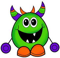 halloween monsters inc little monsters clipart 86