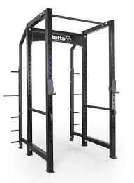 elitefts garage line 3x3 power rack with weight storage