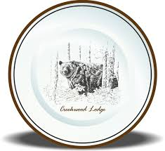 personalized ceramic plates customized dinnerware these personalized ceramic dinner plates are