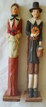 thanksgiving pilgrim statues new pilgrim figurine statue thanksgiving decor gift burton