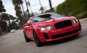 bentley red 2010 bentley continental supersports u2013 instrumented test u2013 car and