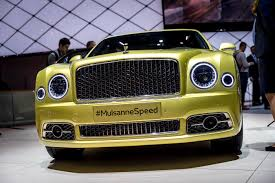 bentley yellow geneva 2016 bentley mulsanne