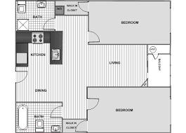 Two Bedroom Floor Plans Playa Del Rey Apartments Floor Plans U0026 Pricing Decron