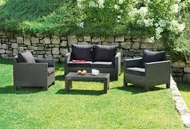divanetti rattan set divanetto giardino spalato divano 2 poltrone tavolino