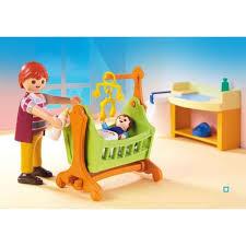 chambre bébé playmobil 5304 chambre de bébé playmobil pas cher à prix auchan