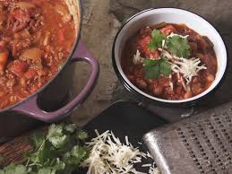 Farmhouse Rules Nancy Fuller Two Meat Chili With Scallion Cornbread Recipe Nancy Fuller