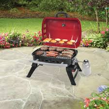 backyard grill 4 burner gas grill red home outdoor decoration
