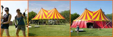 circus tent rental circus orange newsletter