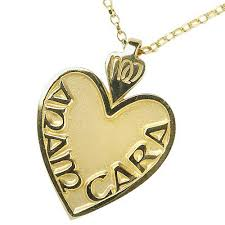 anam cara symbol gold mo anam cara soul mate large pendant necklace anam cara
