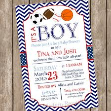 sports themed baby shower ideas sports themed baby shower invitations marialonghi