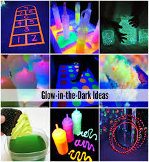 glow in the glow in the activities and food activities and