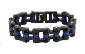 black stainless steel chain bracelet images Motorcycle bike chain bracelets biker jewelry wholesale stainless jpg