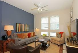 living room accent wall home design