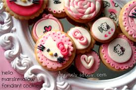 hello kitty cookies denna u0027s ideas