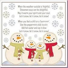 snowman soup snowman soup snowman and soups