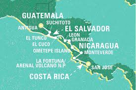 Americas Mood Map by Across Central America Guatemala Tours Geckos Adventures Us