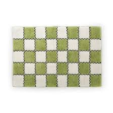 Square Bath Rug Mackenzie Childs Covent Square Bath Rug