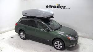 outback subaru 2011 review of the thule sonic xxl rooftop cargo box on a 2011 subaru