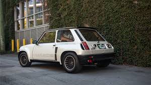 renault hatchback from the 1980s find of the week 1984 renault 5 turbo 2 autotrader ca