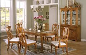 oak dining room set oak dining room sets with hutch best 25 ideas on