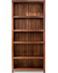 Threshold Carson 5 Shelf Bookcase White Great Deal On Parsons Closed 5 Shelf Bookcase Threshold