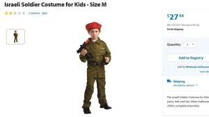 Kids Military Halloween Costumes Walmart U0027s Israeli Army Halloween Costume Sparks Controversy Bbc