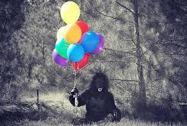 gorilla balloon gorilla costume balloons free photo on pixabay