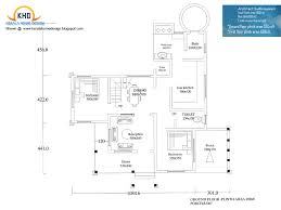 Ground Floor And First Floor Plan by Home Design 2000 Square Feet Ideasidea